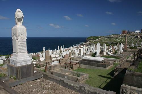 Waverley Cemetery, Sydney East.