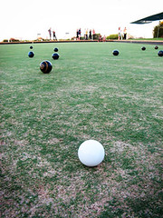 Sunday Evening at the Bowling Club