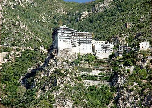 Monasterio Monte Athos, Grecia