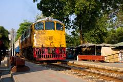 Same train (j son) Tags: train thailand kwai kwae