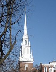 Old North Church from the back