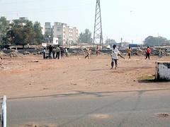 Slum area outside Mahavihara