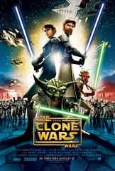 The Clone Wars offitial poster