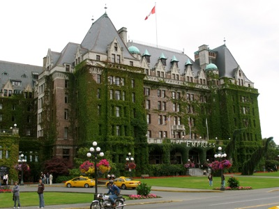 Fairmont Empress Hotel in Victoria, BC