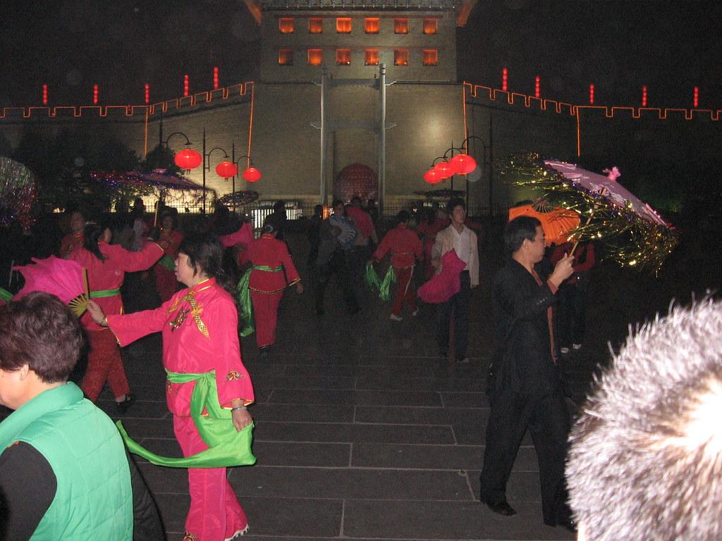 Public Dance, Xi'an, China