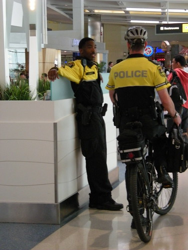 Police at BWI