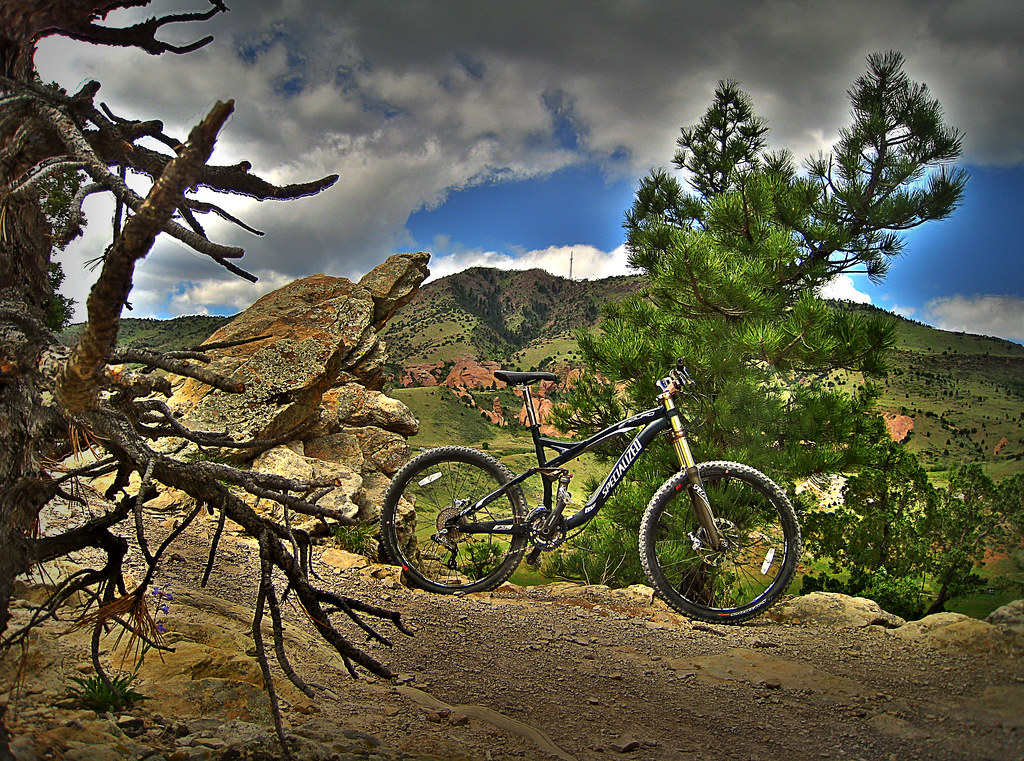 08 Specialized Enduro SL Comp dual suspension mountain bike