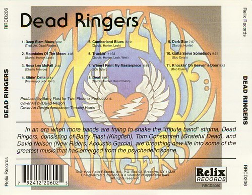 Dead Ringers (rear cover)