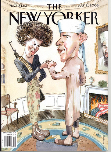 NewYorker cover Obama