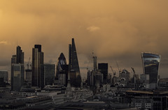 The City from St. Paul's (sisyphus007) Tags: olympus olympusomd olympusomdem5 oli micro43 μ43 london londonarchitecture cityoflondon lloydsoflondon lloydsbuilding lloydsbuildinglondon cheesegrater tower42 ©2017michaelkiedyszko gherkin modernarchitecture modernbuildings stpaulscathedral