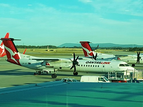 Melbourne Airport, February 2017