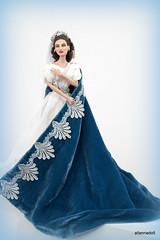 """Maria Callas  """"Norma"""", casta diva (aladol1) Tags: mariacallasdoll casta diva norma opera bellini dollooak allannadoll dressooak jewelryooak private collection doll"""