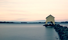 Hafrsfjord Boathouse (Stu-In-Norway) Tags: norway rogaland stavanger hafrsfjord boathouse stuinnorway norge