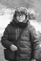 My little photographer (Pezti) Tags: bw blackandwhite black white film 35mm trix kodak leica leicam3 m3 hektor 135mm f45 friðrikdarripétursson friðrik darri pétursson