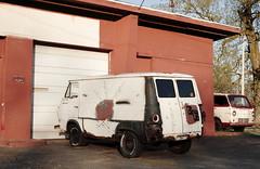 Jalopy (jpmatth) Tags: color building car architecture digital truck canon eos lenstagged illinois rust paint 7d van edinburg 2010 econoline ef28mm18