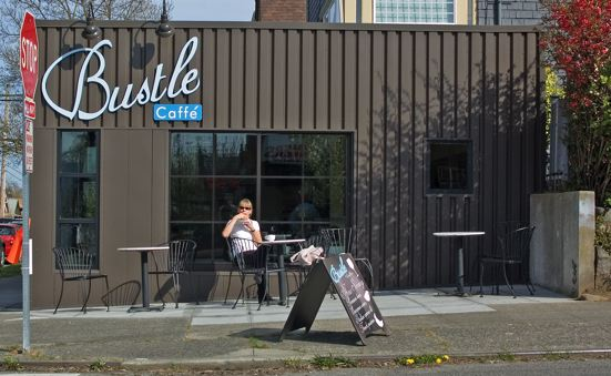 The New and Wonderful Bustle Cafe