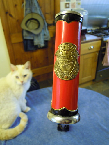 Head tube badge (and BB)