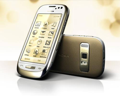 Nokia Oro In White