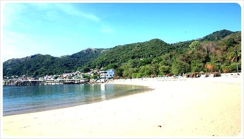 Taboga Island beach