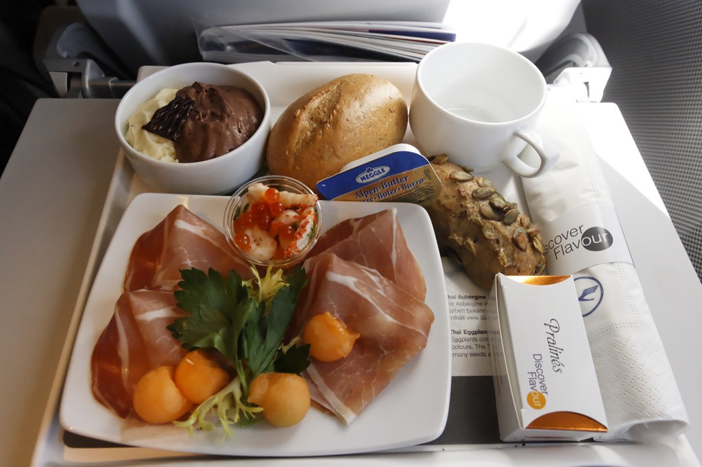 Meal on LHR-HAM