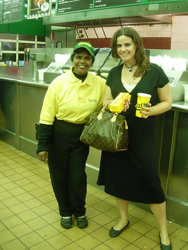A Nathan's Employee And I