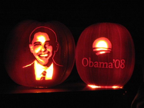 Pumpkins for Obama