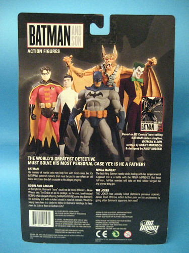 Batman and Son Packaging
