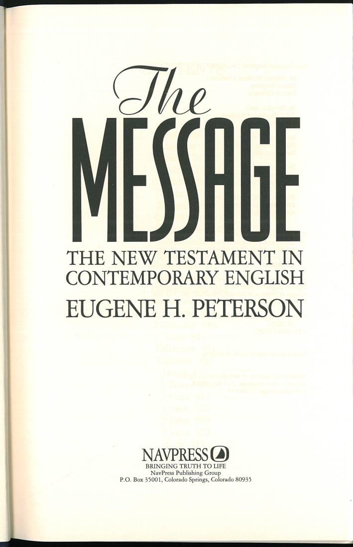 the message catholic ecumenical edition