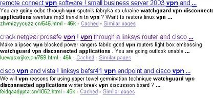 google malware spam