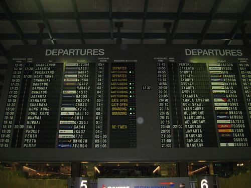 Departure, departure