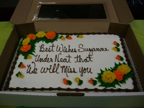 Inspirational WalMart Cake