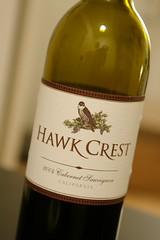 2004 Hawk Crest Cabernet Sauvignon