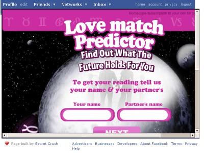 Spammy Facebook App