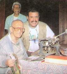 Guido Monteverde, Oscar Retto y Antonio Velásquez