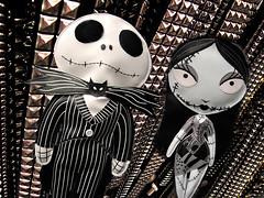 Jack & Sally (killbyte) Tags: mall movie store dolls sally jackskellington thenightmarebeforechristmas