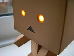 danboard3 (squink!) Tags: cute monster japan japanese cardboard kawaii boxes kaiyodo yotsuba squink robit revoltech danboard enokitomohide