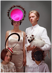 Isabella Blow & Philip Treacy by (Donald McPherson Fashion photographer) (Donald McPherson) Tags: fashion stone photographer top donald blow v vogue american izzy rolling mcpherson newyorkcityfashion fashionlocation highfashionmodels