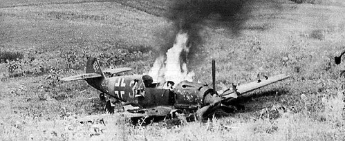 Warbird picture - Bf 109 E4 (VI) - Airplane crash