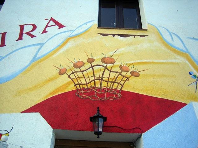 Corona de la porta