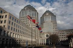 Procter & Gamble Headquarters (WrldVoyagr) Tags: city winter ohio sky usa building architecture clouds unitedstates cincinnati headquarters pg oh proctergamble