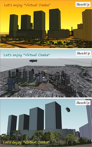 "Let's enjoy ""Virtual Osaka"""