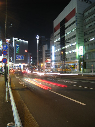 Shinjuku night stream