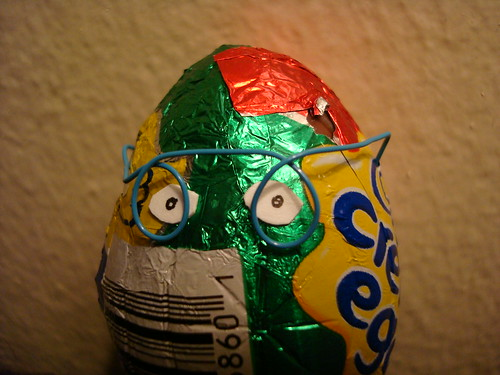 Creme Egg Closeup