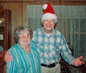 nan and pop christmas 1993