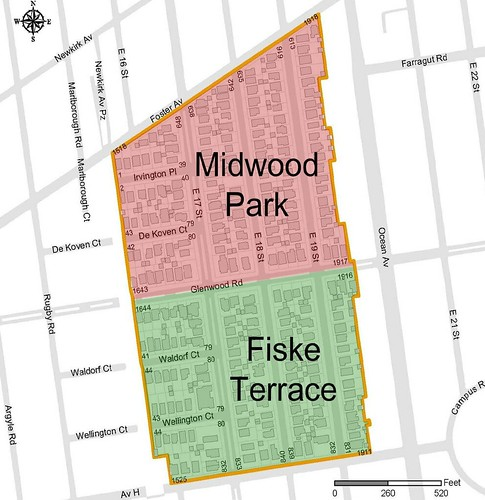 Midwood Park - Fiske Terrace Boundaries