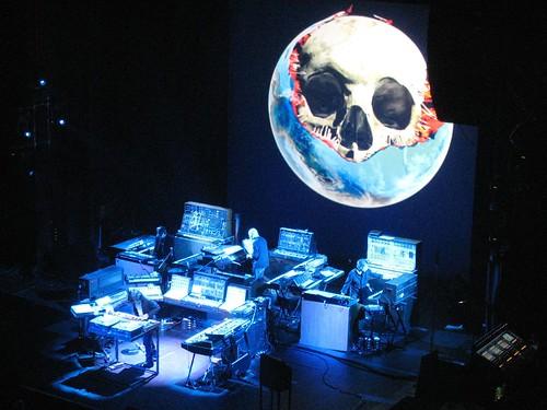 Jarre live à Bruxelles (Oxygène 6)