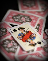 Jack Spades  ( B i b b i ) Tags: canon jack cards 50mm dof accident 11 card sword 2008 spades playingcards 30d knave badluck hsselby deckofcards shortdof spader unluck svrd knekt canon30d canon50mmf18ii otur 50mmf18ii facecard spelkort courtcard