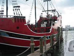 IMG_0505 (kprogram) Tags: sea water florida pirates clearwater pirateship shippirates