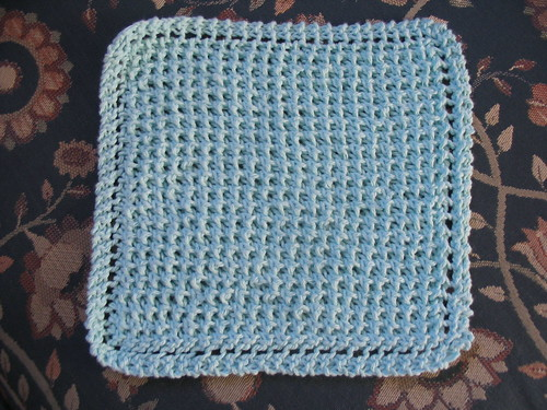 Free Diagonal Knit Dishcloth Pattern : Diagonal Bee Stitch Cloth Free Knitting Pattern from the Dishcloths Free Knit...
