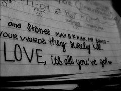 love,   #171 in explore ! (ashley rose,) Tags: love pen writing paper notebook lyrics notes class explore chemistry font write draw songs cursive explored ashleyrose betweenthetrees ashleyrosex